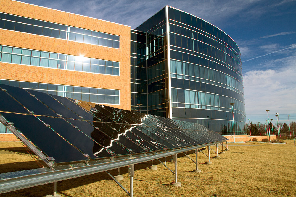 Solar Array at Bismarck State College
