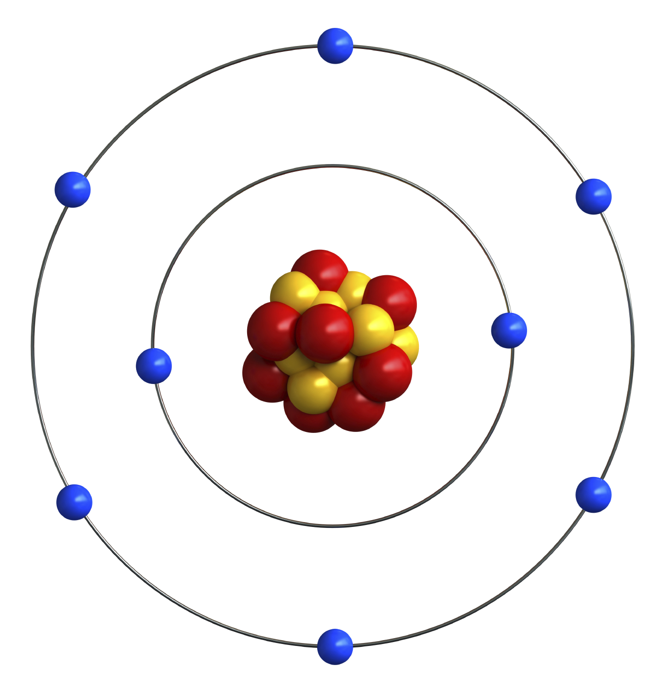 Bohr Diagram For Oxygen