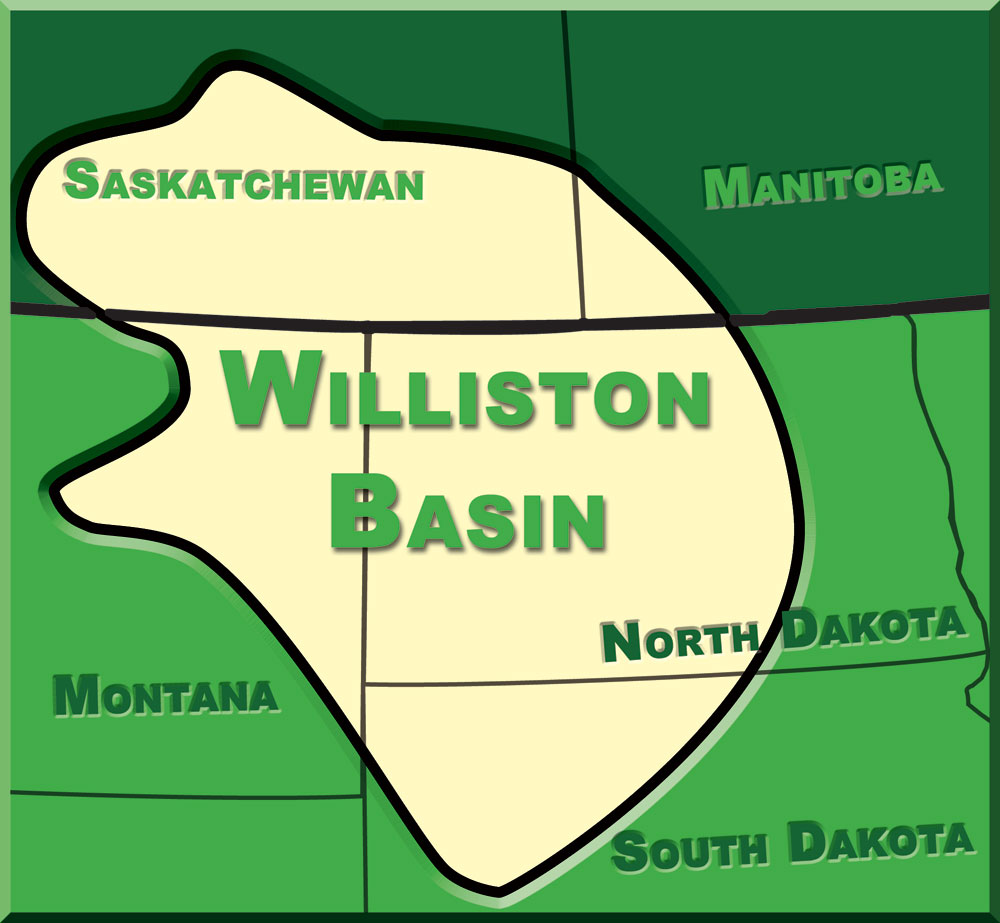 Williston Basin Map