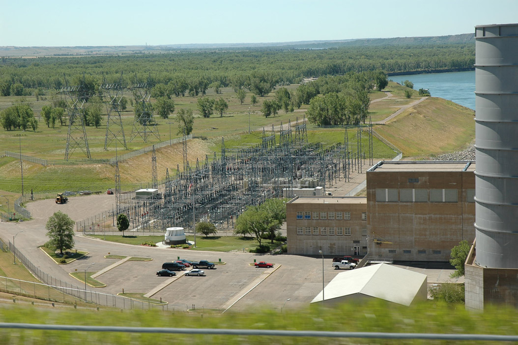 Substation at Garrison Dam