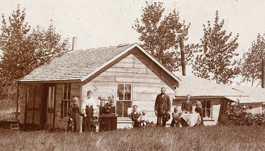 North Dakota pioneer family