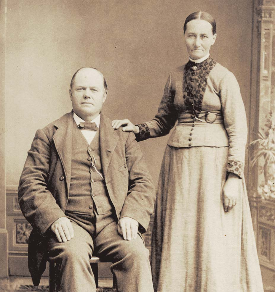 Norwegian immigrant couple