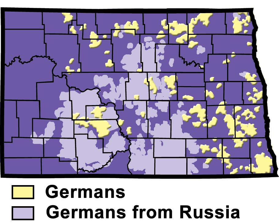 Settlement of Germans and Germans from Russia