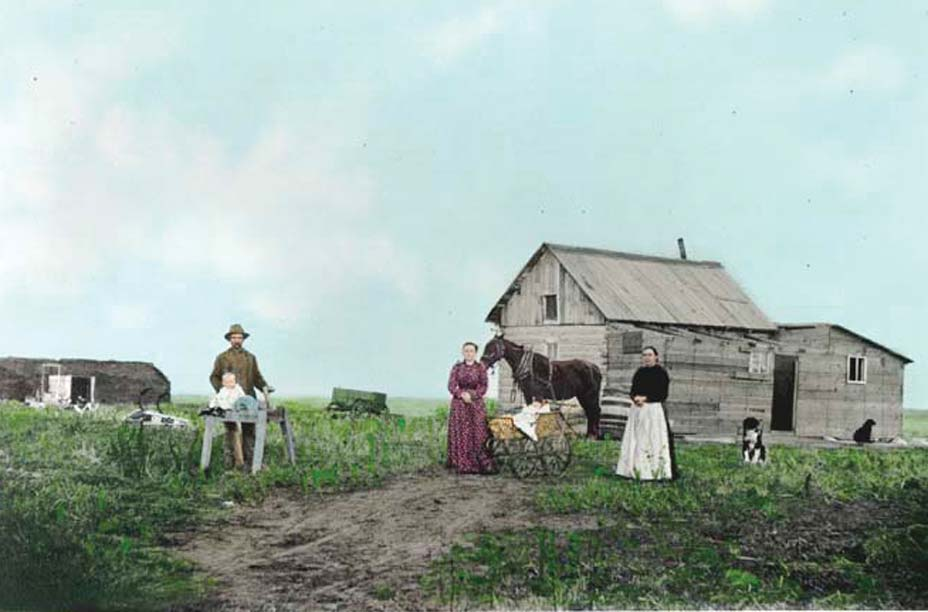 Early North Dakota Homestead