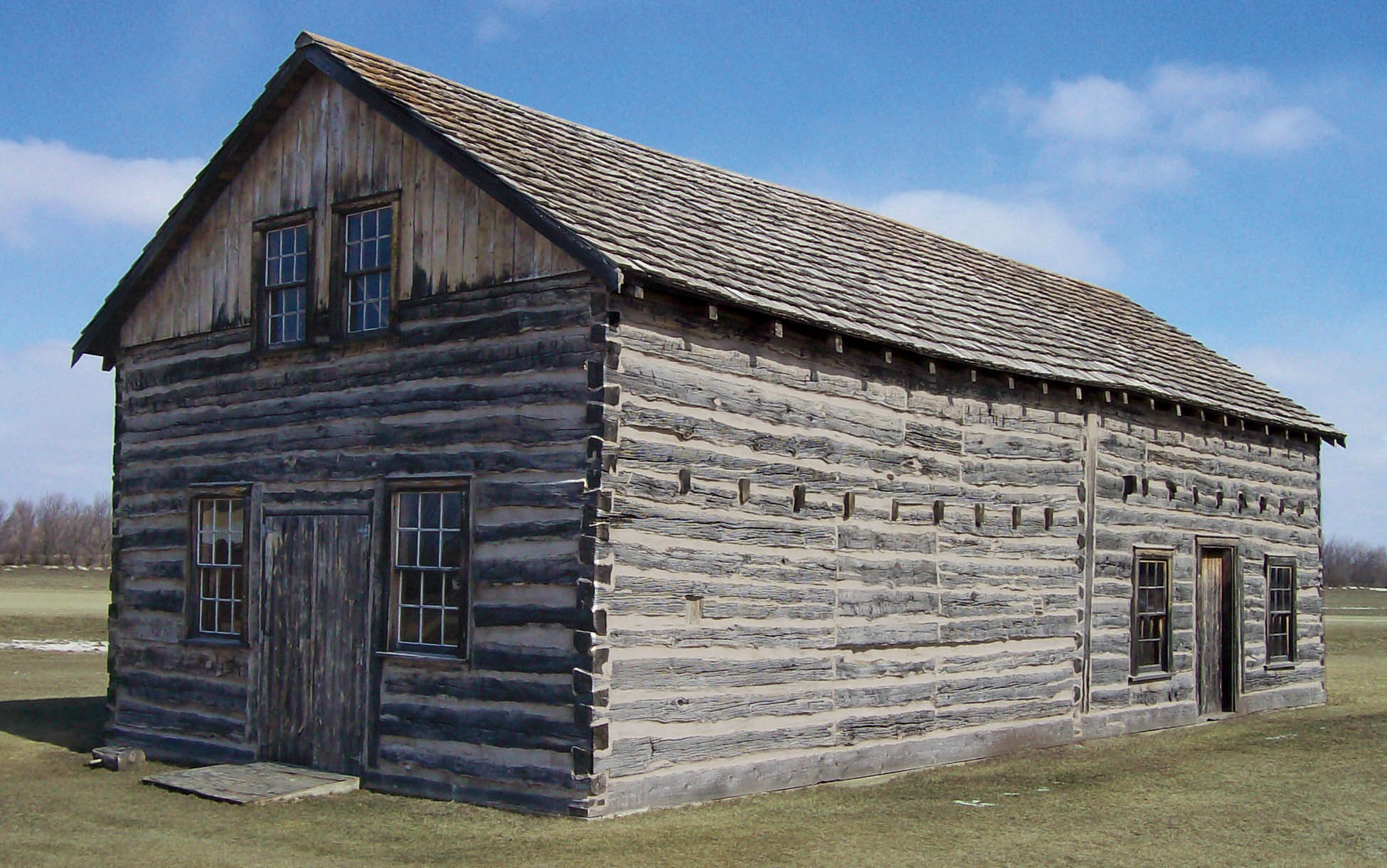 <strong>Figure 28. Trading post building at the Gingras State Historic Site, Walhalla, North Dakota.</strong> <em>(Gwyn Herman)</em>