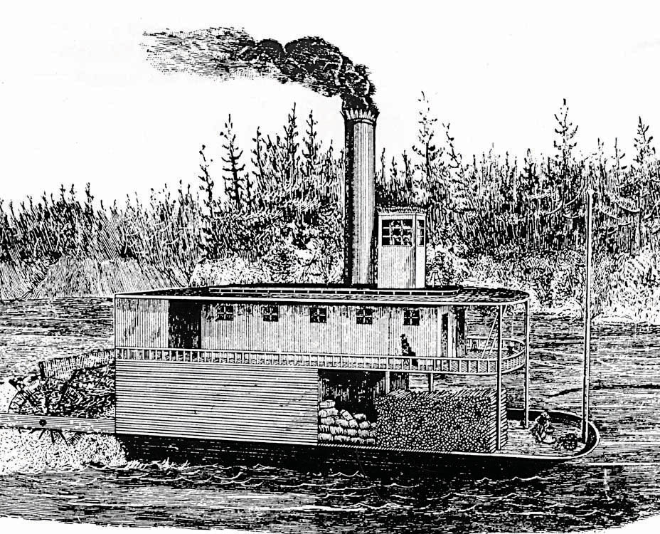 The steamboat Anson Northrup
