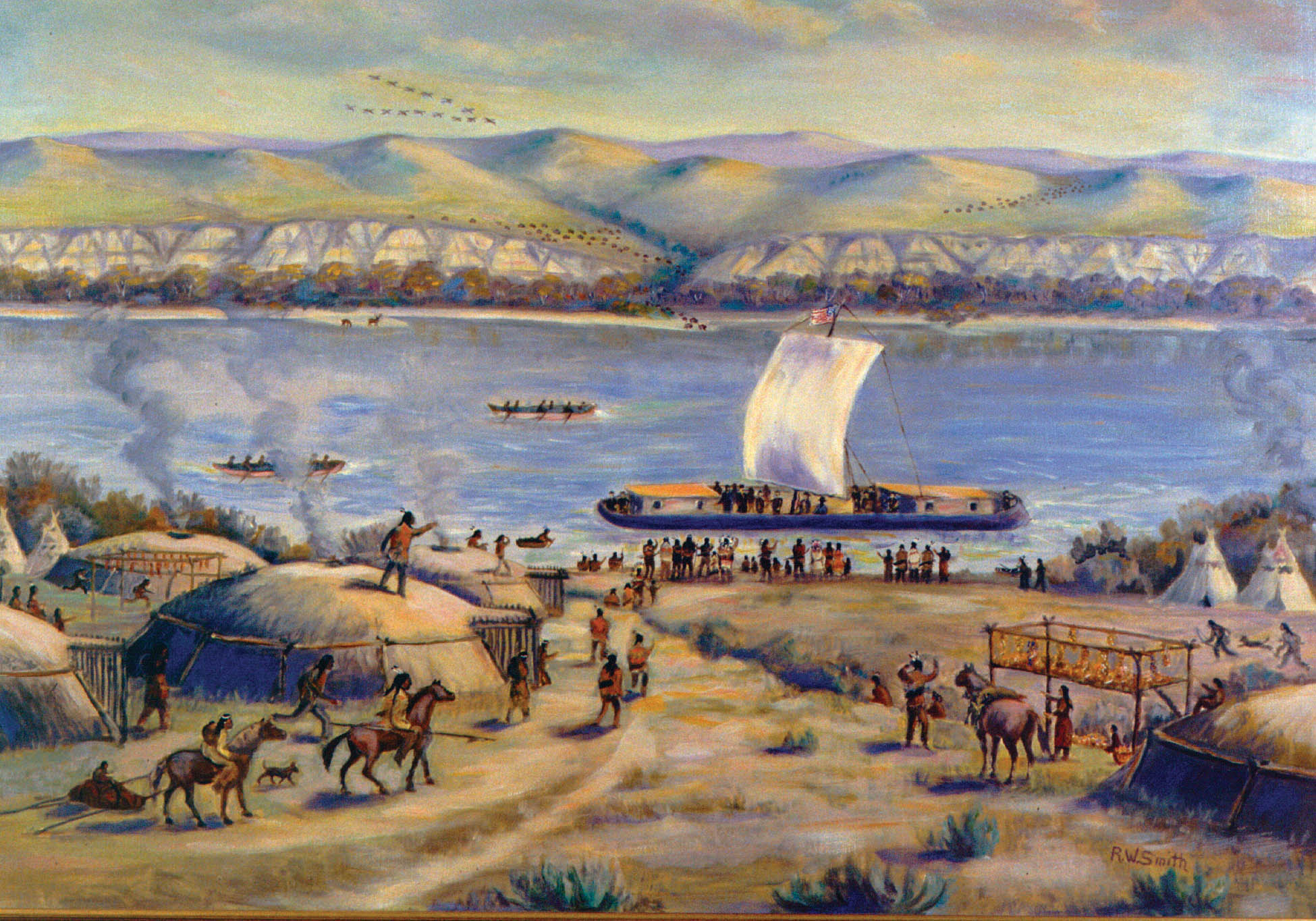 The Lewis And Clark Expedition >> Section 4: The Expedition in North Dakota | North Dakota Studies