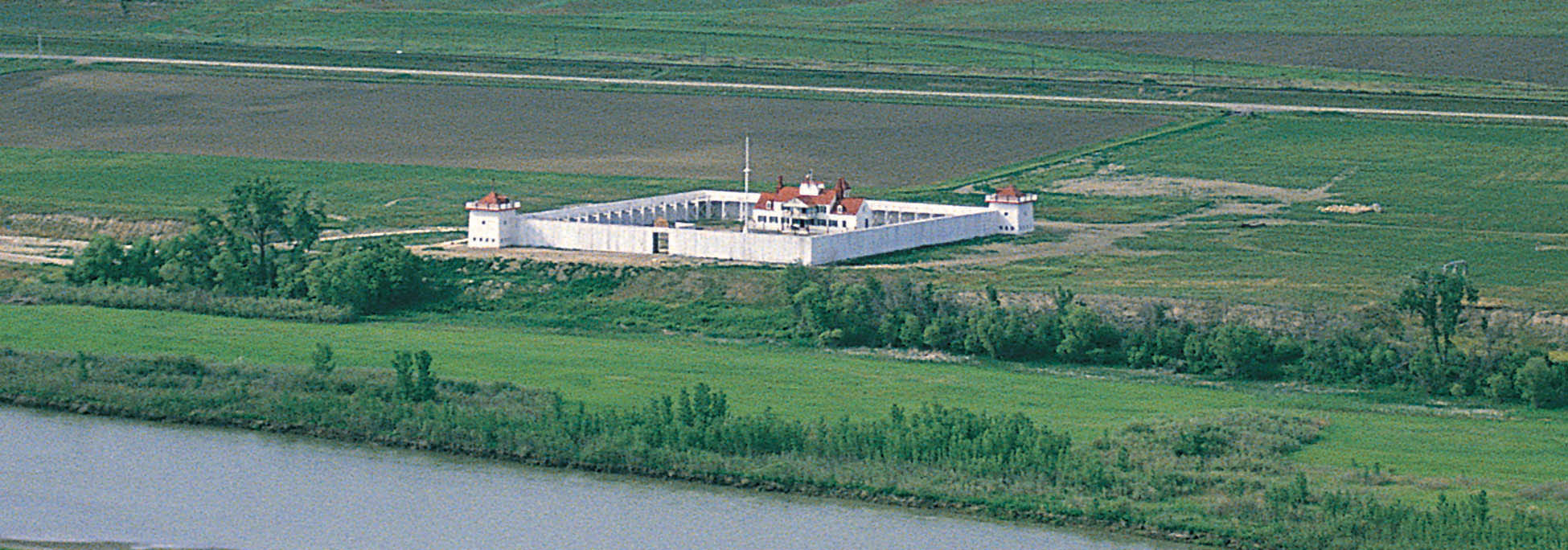 Reconstructed Fort Union