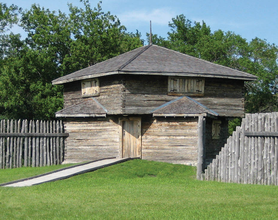 Reconstructed blockhouse