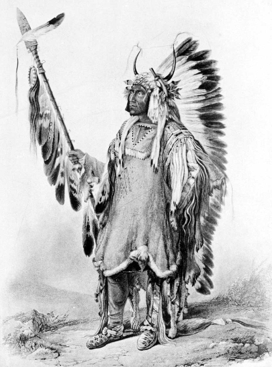 Mandan Chief Four Bears