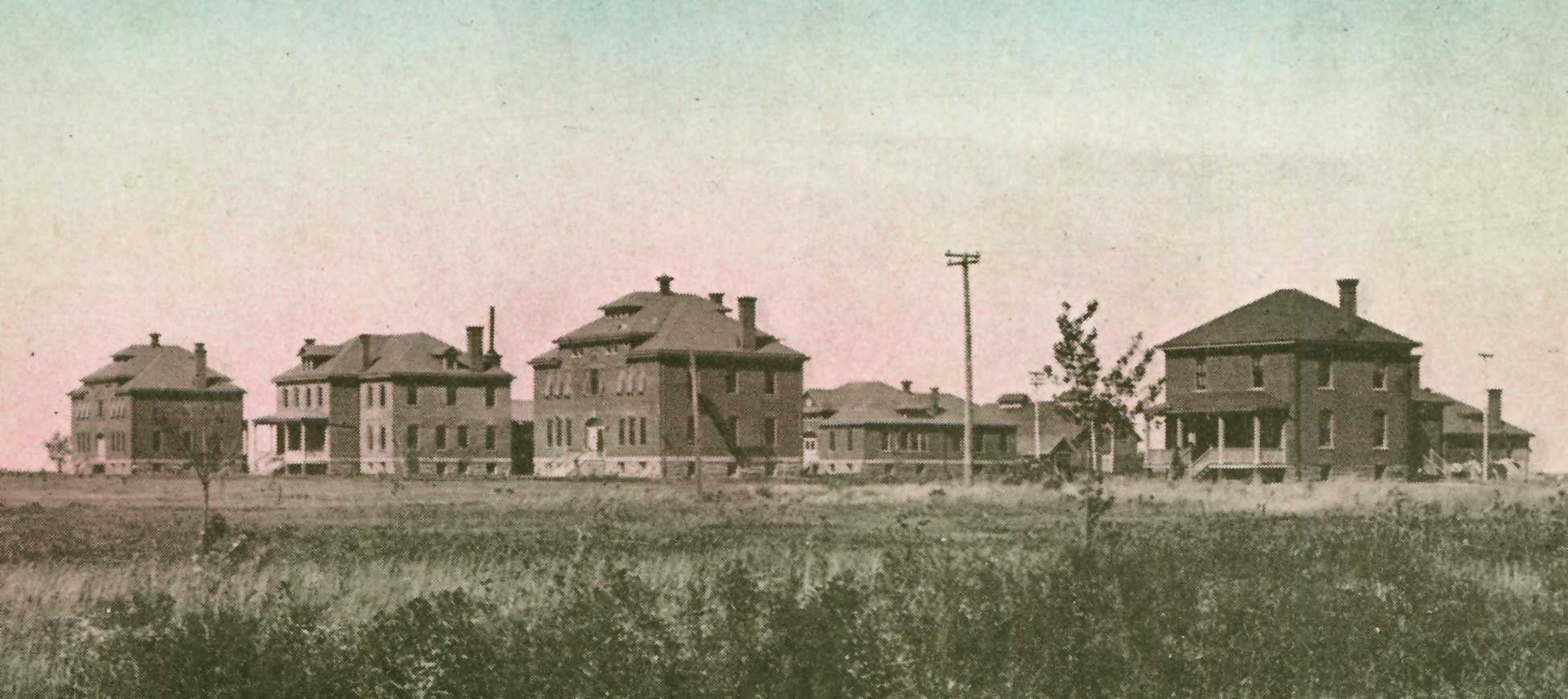 The Wahpeton Indian School