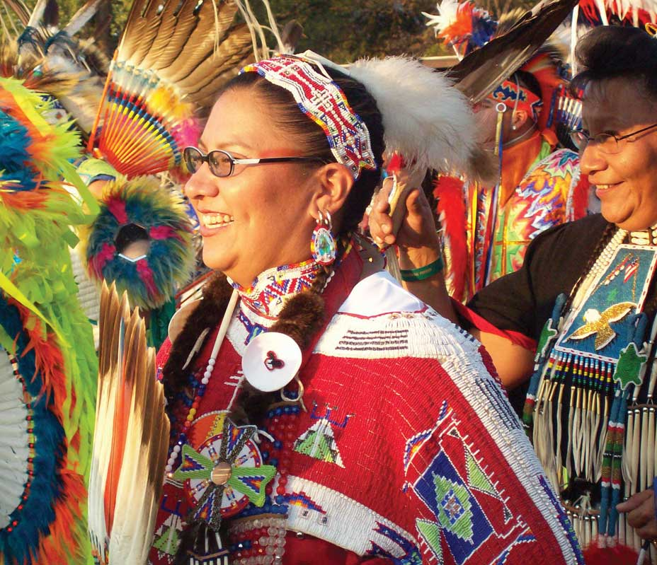 The United Tribes International Powwow.