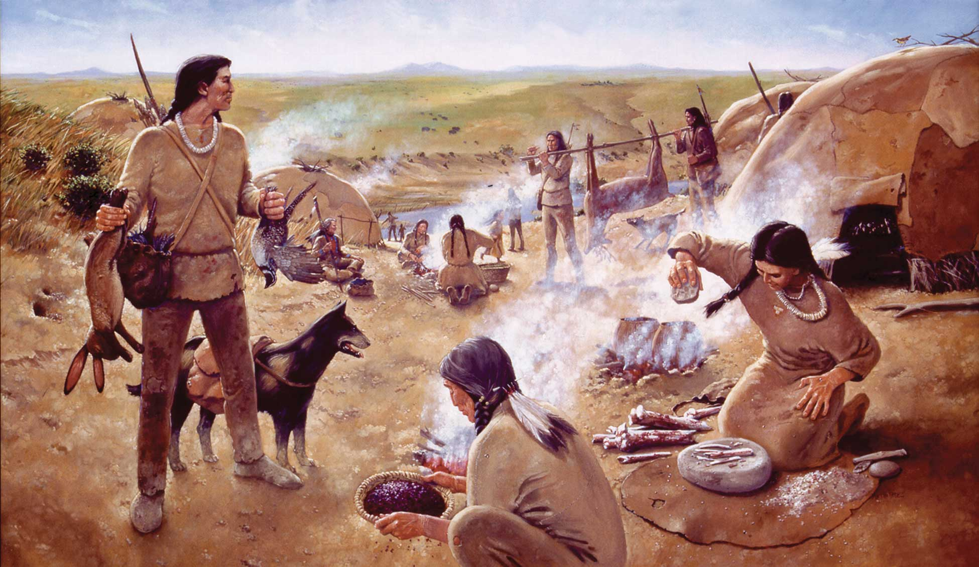an introduction to the history and culture of the mandan indians This web site is to describe the american indian horse  villages of the mandan and hidatsa and  the plains indian culture for more see history 1800-1890.