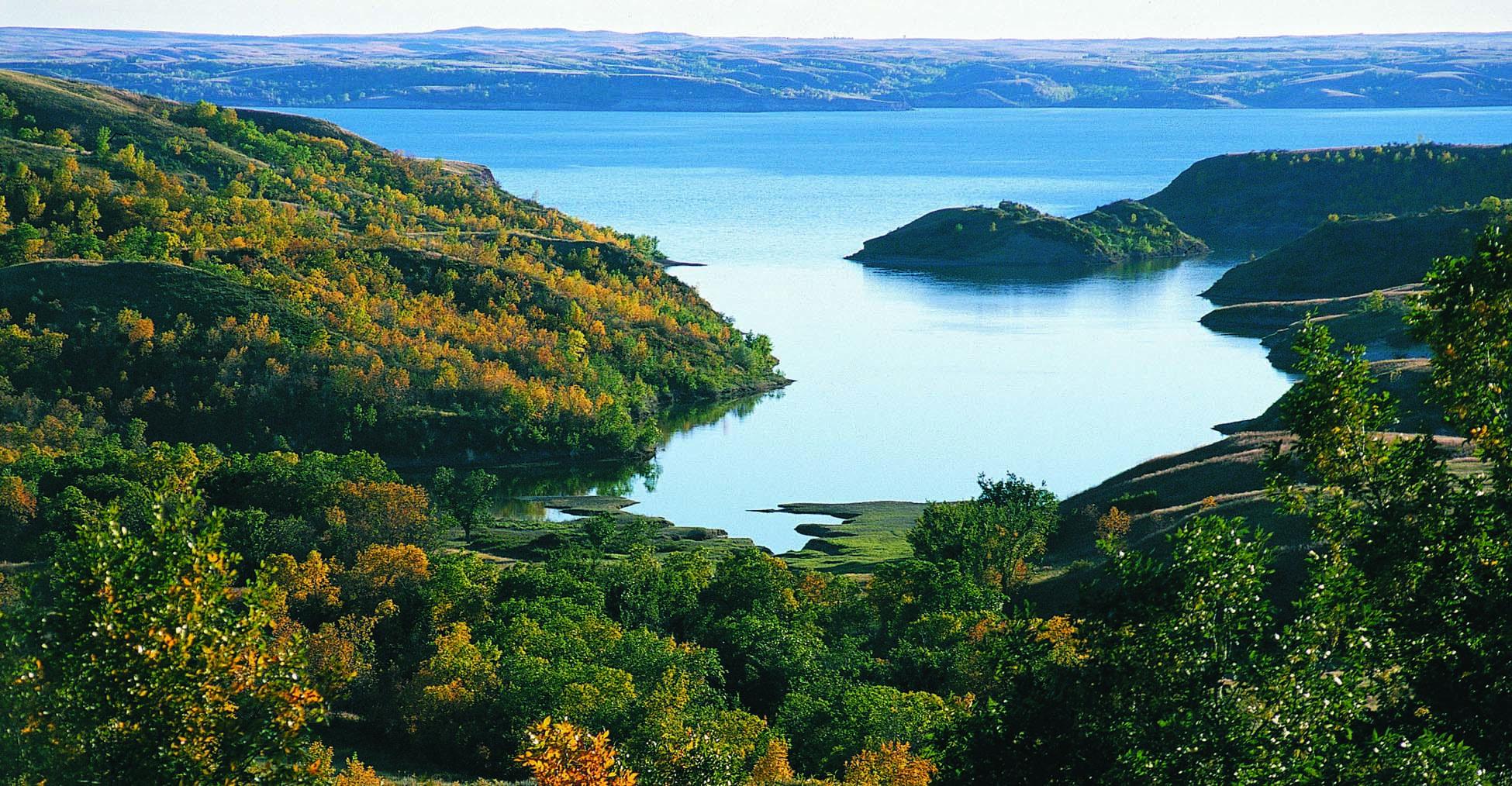 Section 6 missouri plateau north dakota studies for Lake sakakawea fishing