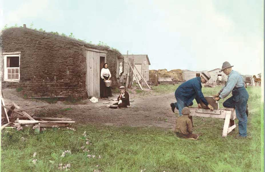 Figure 10. The Homestead Act