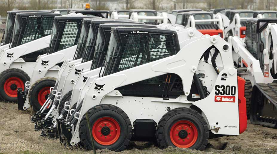 Figure 142. The Bobcat skid-steer loader