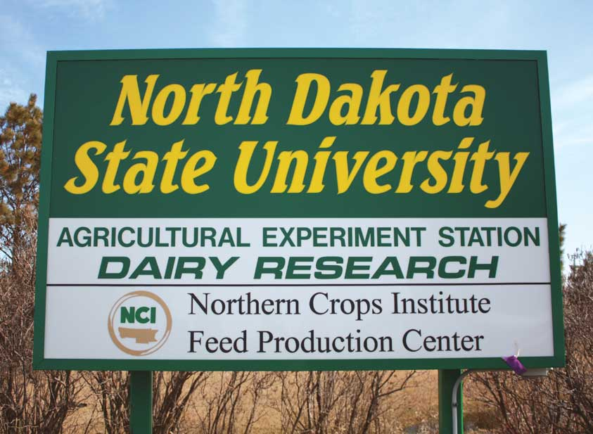 Figure 157. NDSU is a leading agricultural research university