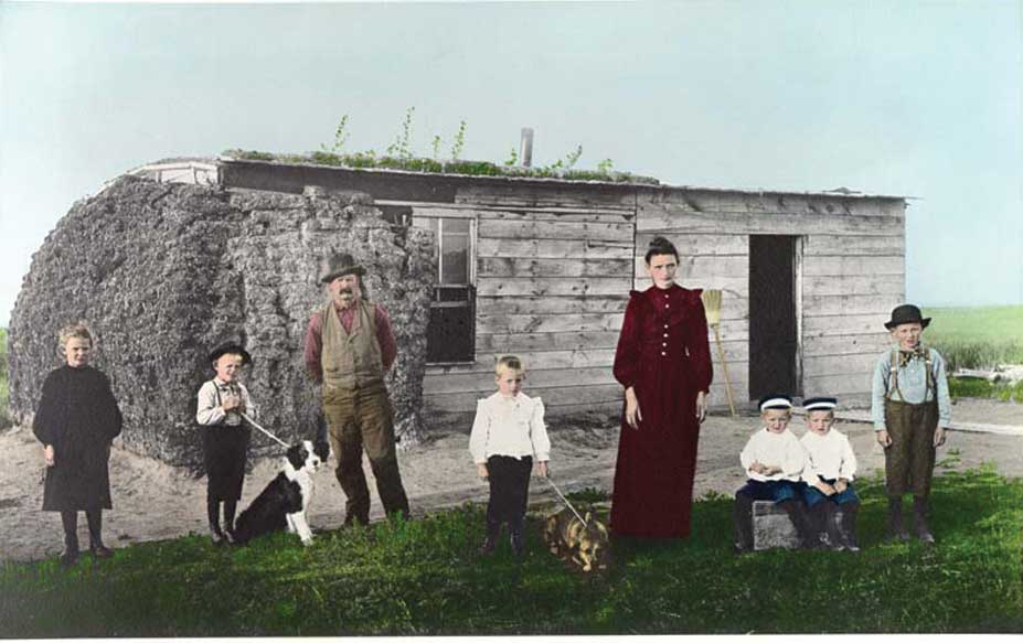 Figure 35. farm family