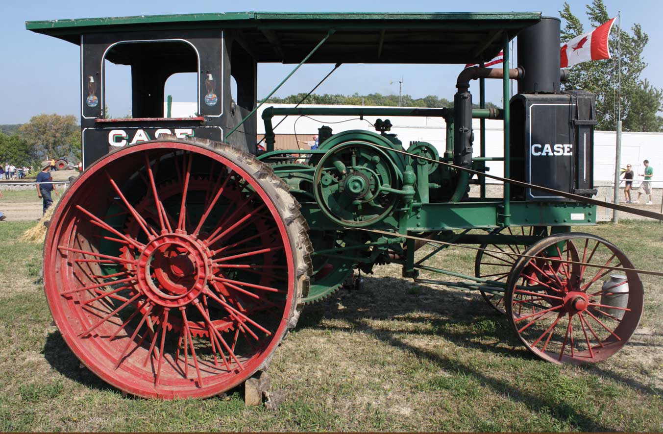 <strong> Figure 60a.</strong> Early Case tractor. <em> (Neil Howe) </em>