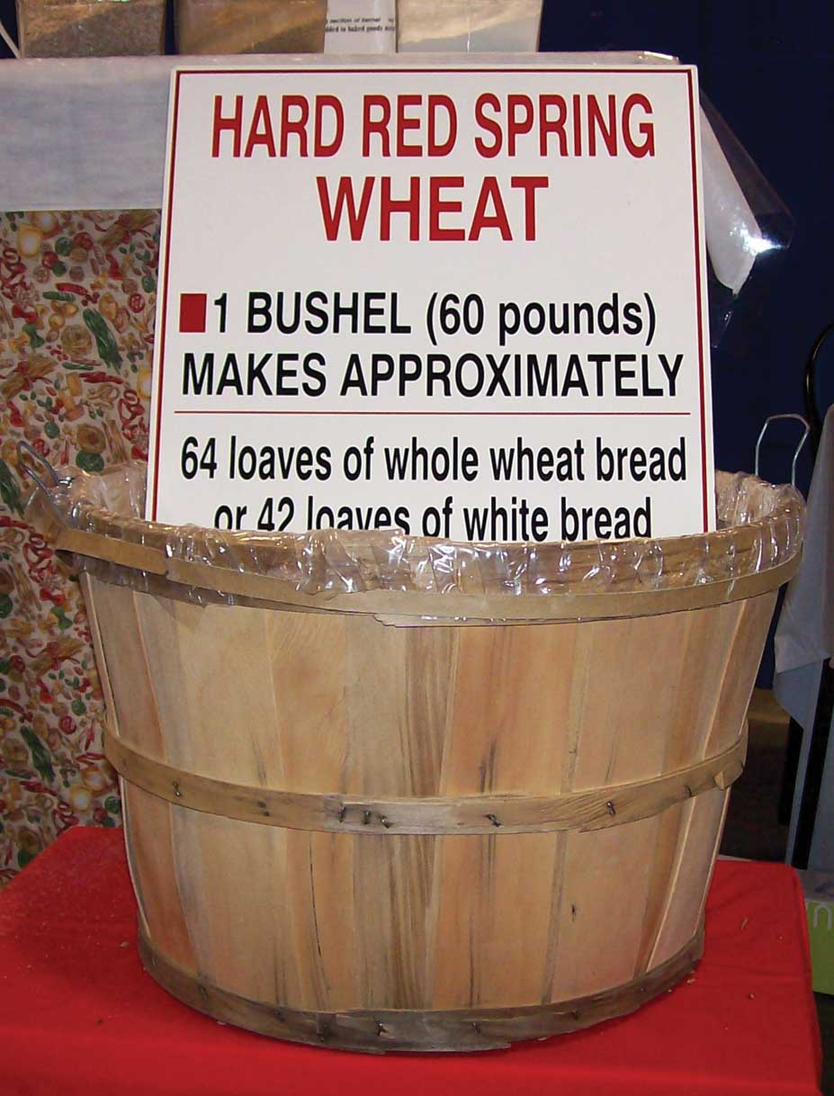 Figure 74. Wheat is sold by the bushel
