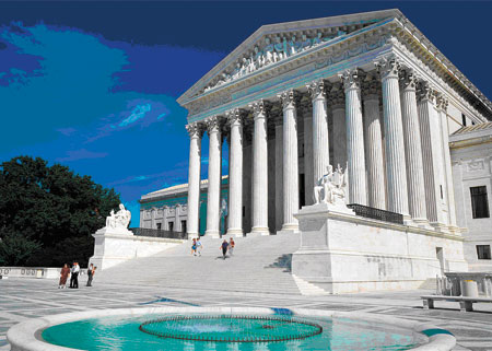 Supreme Court building,Washington, D.C.