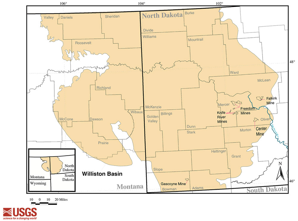 section 2 the williston basin north dakota studies