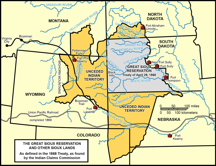 Treaty of Fort Laramie, 1868
