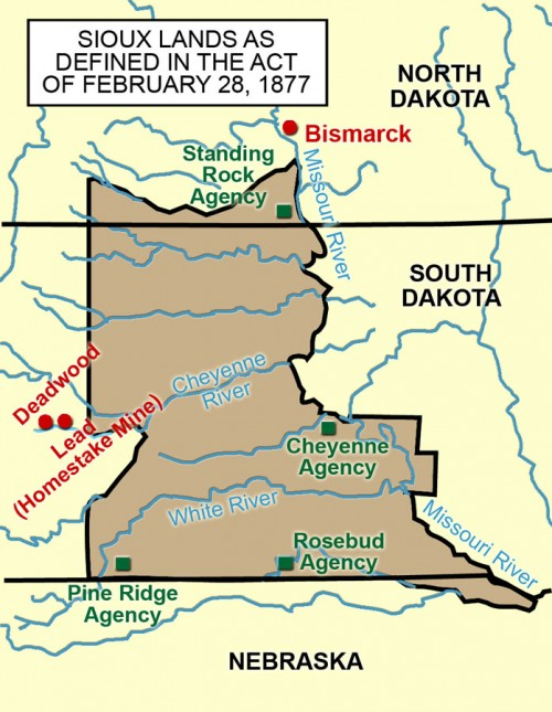 Standing Rock Reservation Map Section 6: Standing Rock Reservation   North Dakota Studies Standing Rock Reservation Map