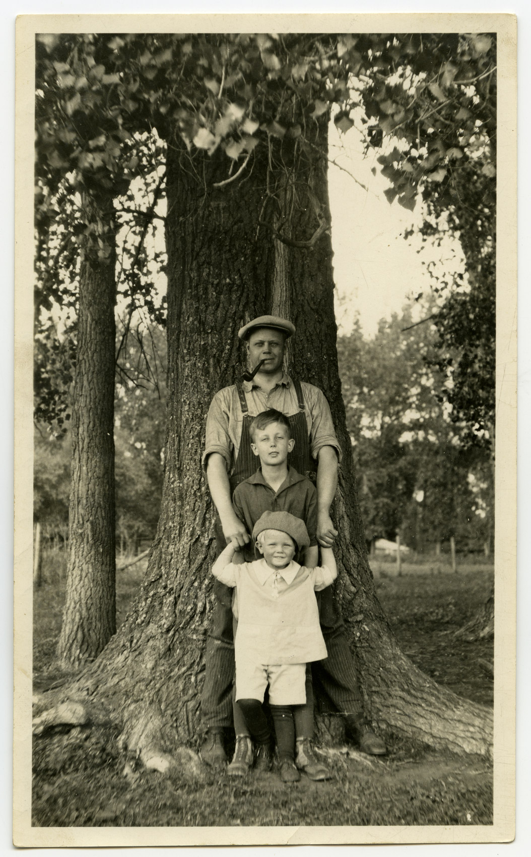Mr. Wold's son, A. N. Wold and his two sons