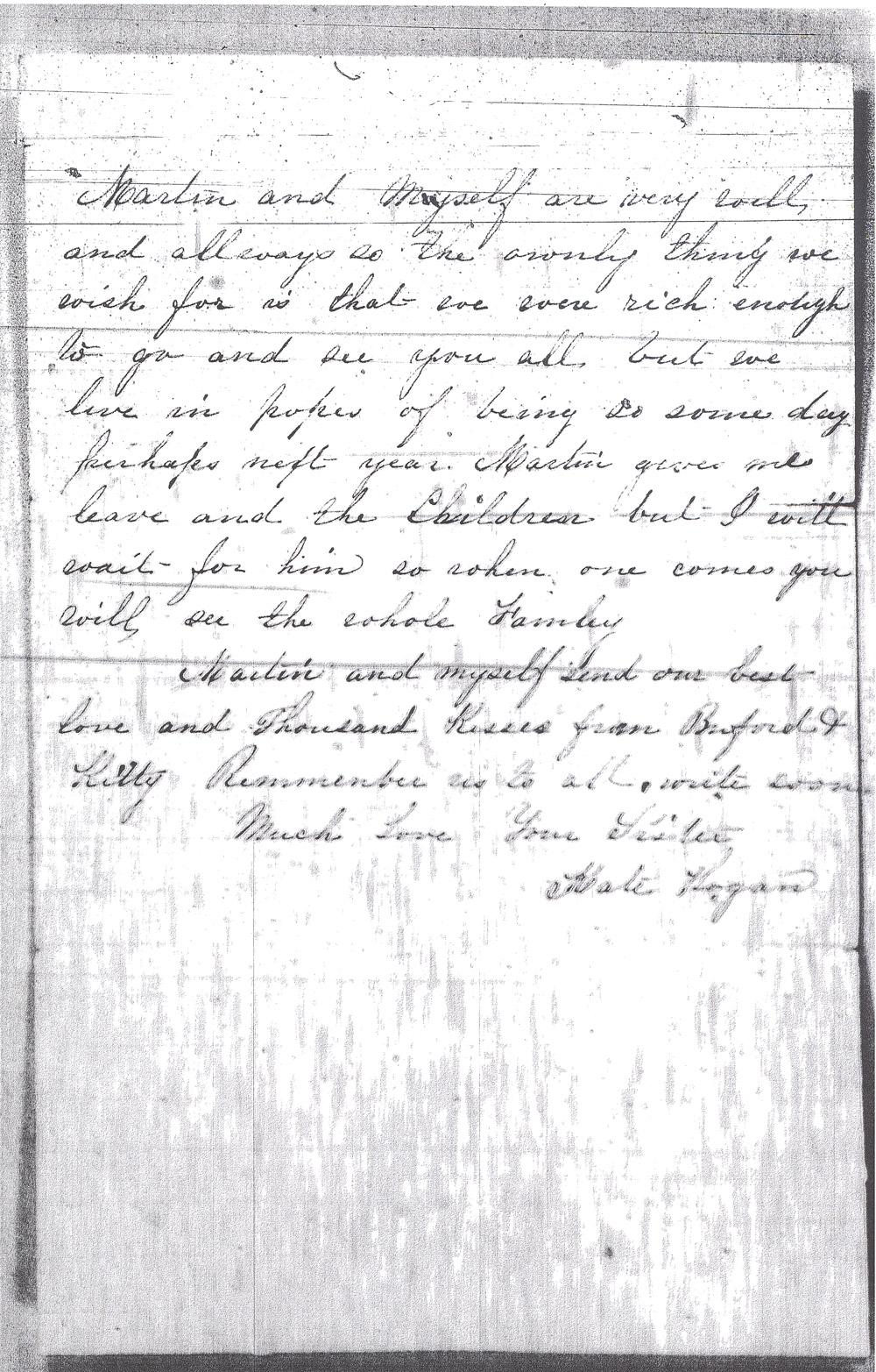 Kate Hogan Letter 2, Page 3