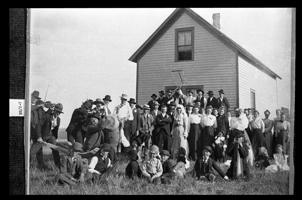 J R Eide Wedding Lake Township 9 miles Southwest of York ND 1904