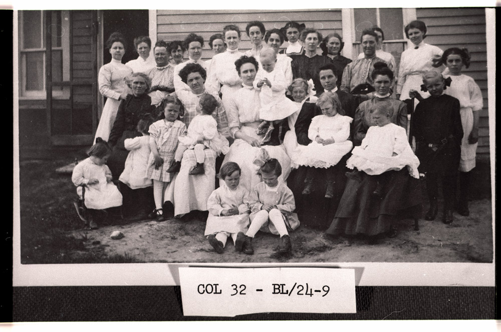 First meeting of Lutheran Ladies Aid in Mercer ND 1916-1917