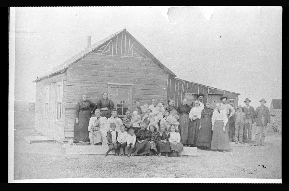Sheyenne Ladies Aid at Iver Raaen House 1873