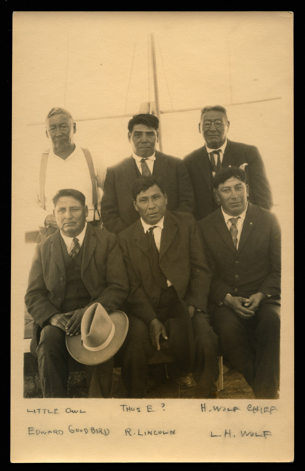 Indian Preachers at Fort Berthold Reservation