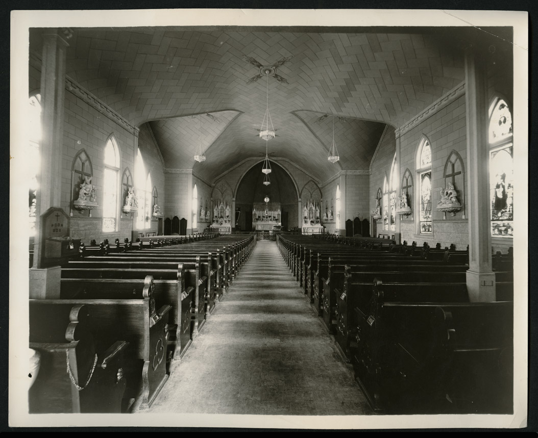 C1399 St. Mary's Catholic Church, Bismarck, 1933