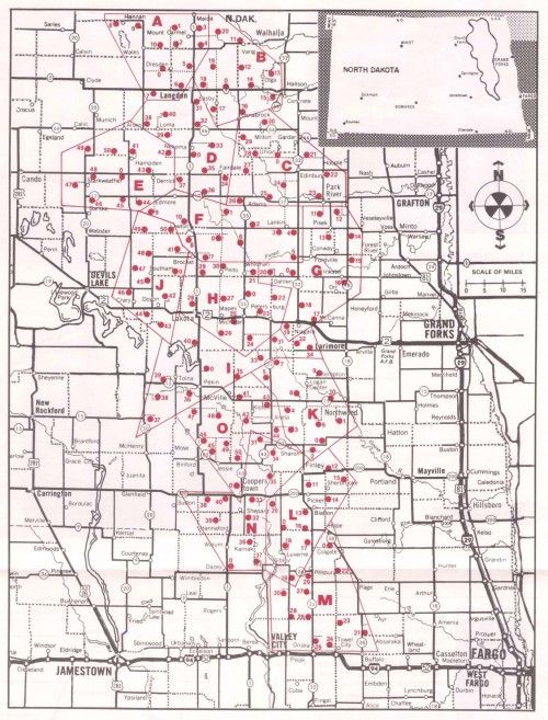 Grand Forks Missile Sites