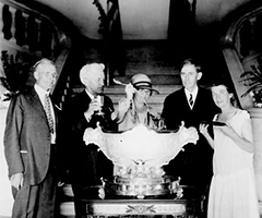 Leaders of North Dakota with the punch bowl, 1926