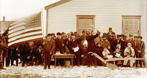 Indian Citizenship at Fort Yates
