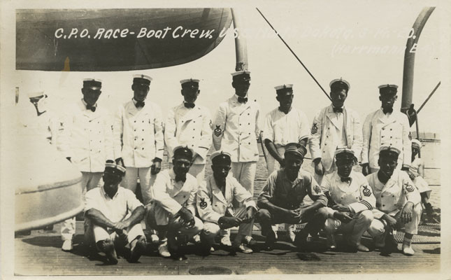 USS North Dakota's CPO Race-boat Team