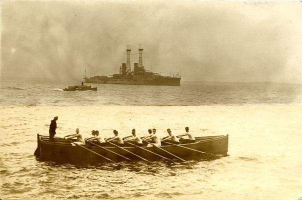 USS North Dakota's Rowing Team