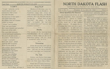 The North Dakota Flash Newsletter