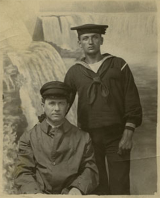 Sailors from the USS North Dakota