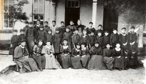 Mission School Students