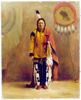 Sitting Bull. (State Historical Society of North Dakota, 5356)