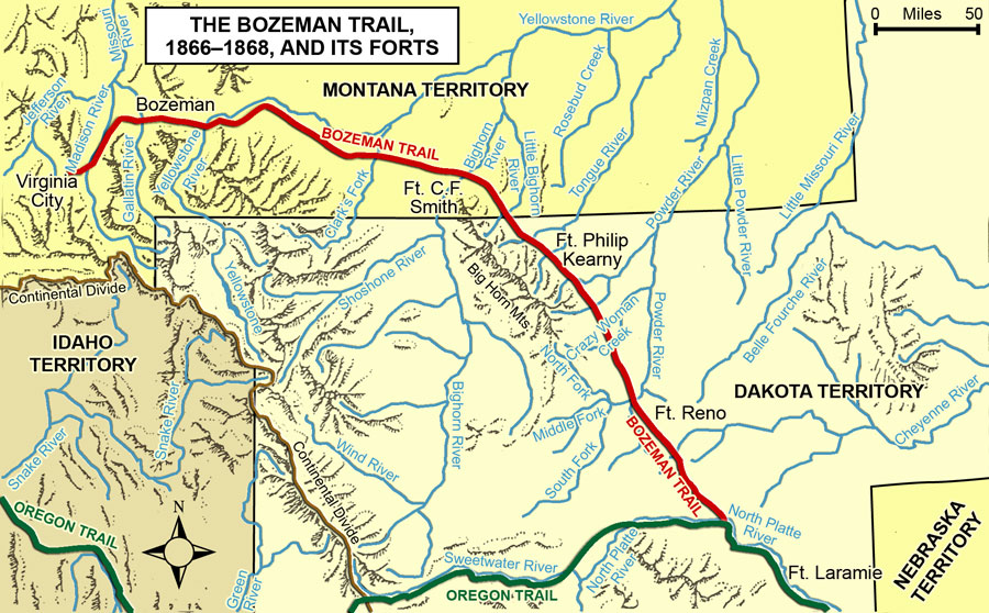 The Bozeman Trail and its Forts, 1866–1868