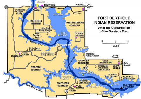 Fort Berthold Indian Reservation Today