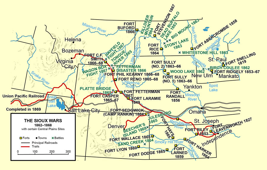 The Sioux Wars, 1862–1868