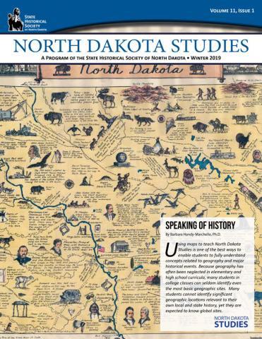 ND Studies newsletter cover - Volume 11-1 Winter 2019